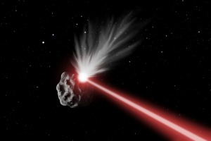NASA laser could vaporize asteroids...