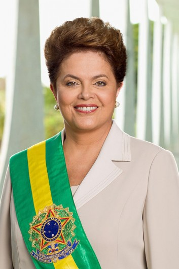 Dilma Rouseff, elected president of Brazil in October 2010.