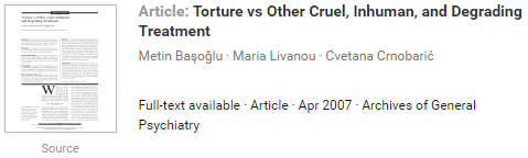 should torture be allowed