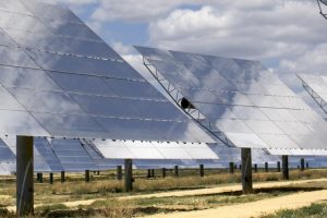 Solar energy is hot right now, in m...