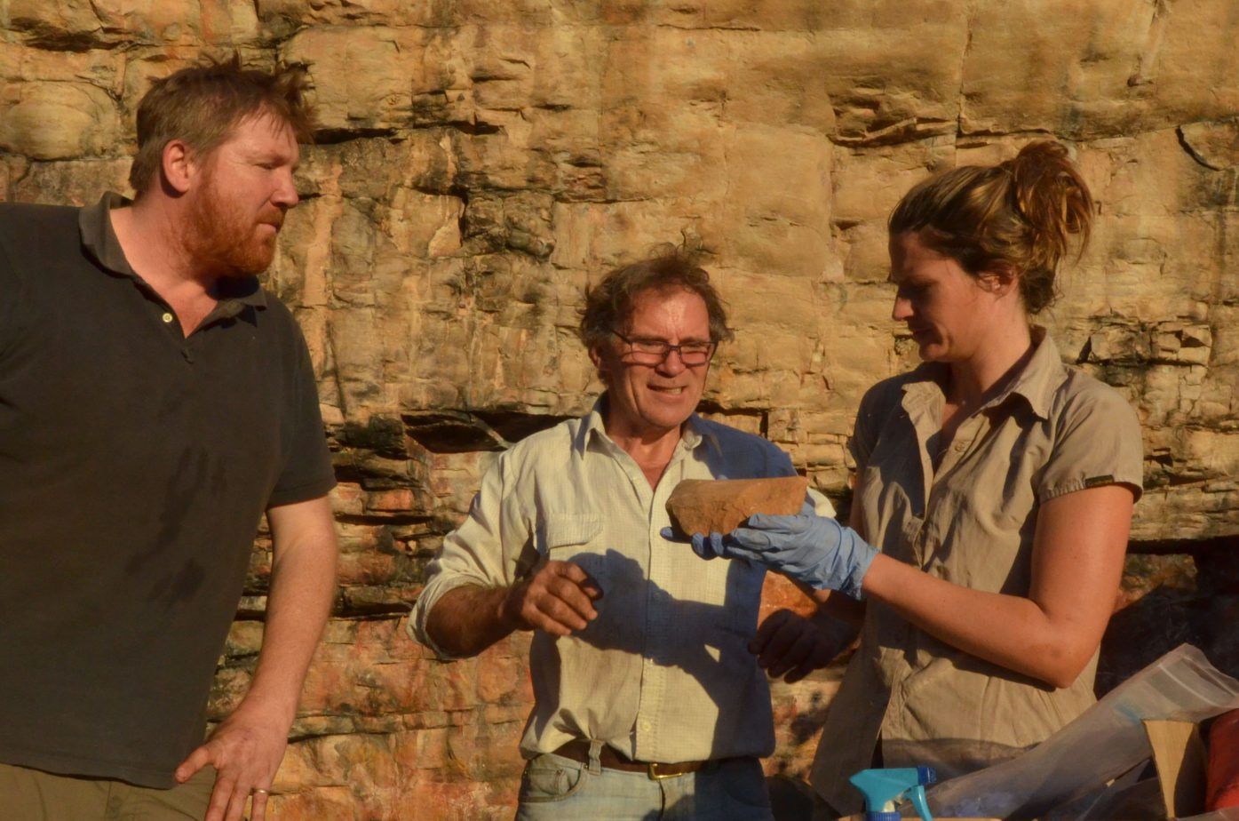 First humans in Australia were sophisticated hunters and artists 65000 years ago
