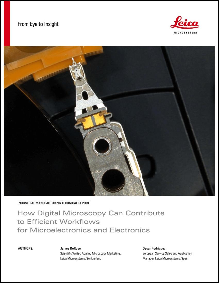 Microelectronics and Microscopy