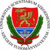 A logo for University of Szeged.
