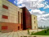 A logo for Institute for Advanced Studies in Basic Sciences, IASBS University.